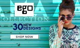Ego RTW Eid Shirts and Unstitched Eid Suits 2016-2017 Catalogue