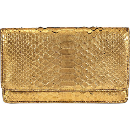stylish golden clutch by Barneys New York