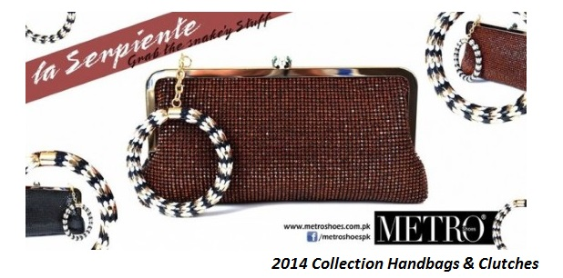 Metro Shoes Latest Ladies Handbags and Clutches