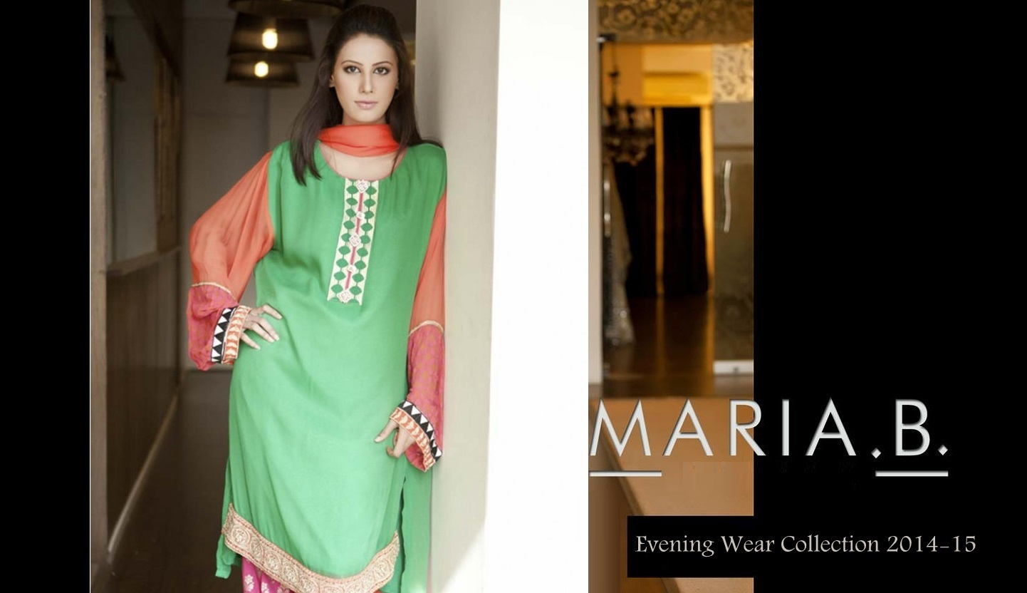 Maria B Best Evening wear Party Dresses Collection for women: