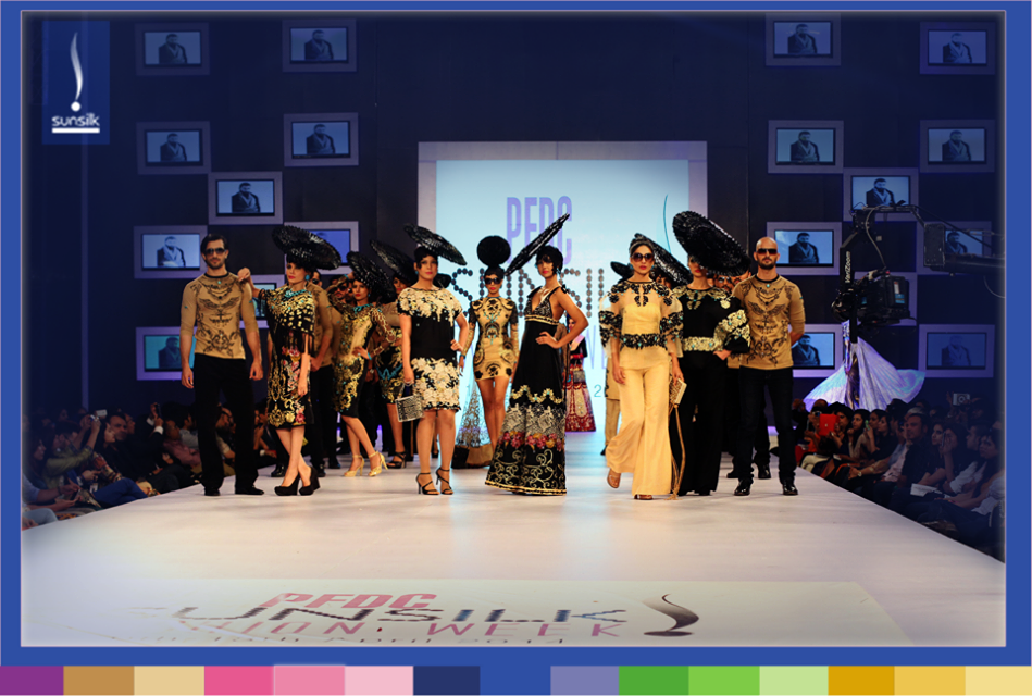 Ali Xeeshan Luxury Collection at PFDC Sunsilk Fashion Week