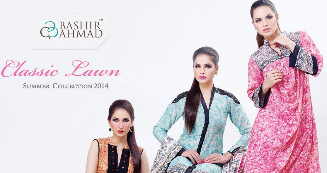 Bashir Ahmad Lawn Collection 2014 Volume 2