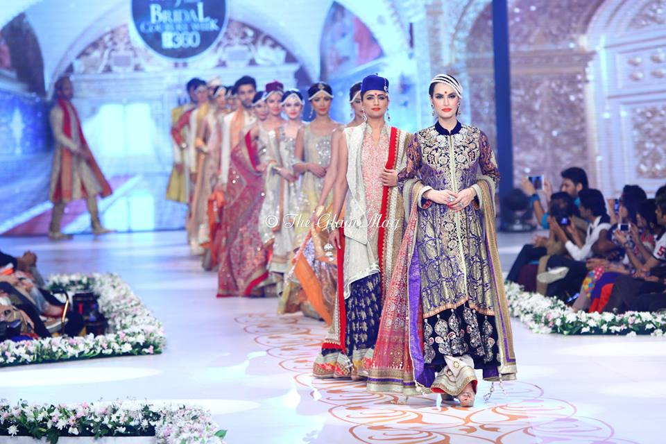 Deepak Perwani Bridal Collection at Pantene Bridal Couture Week