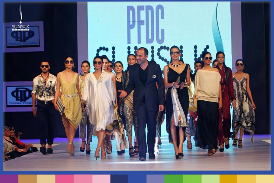 Deepak Perwani Collection at PFDC Sunsilk Fashion Week:
