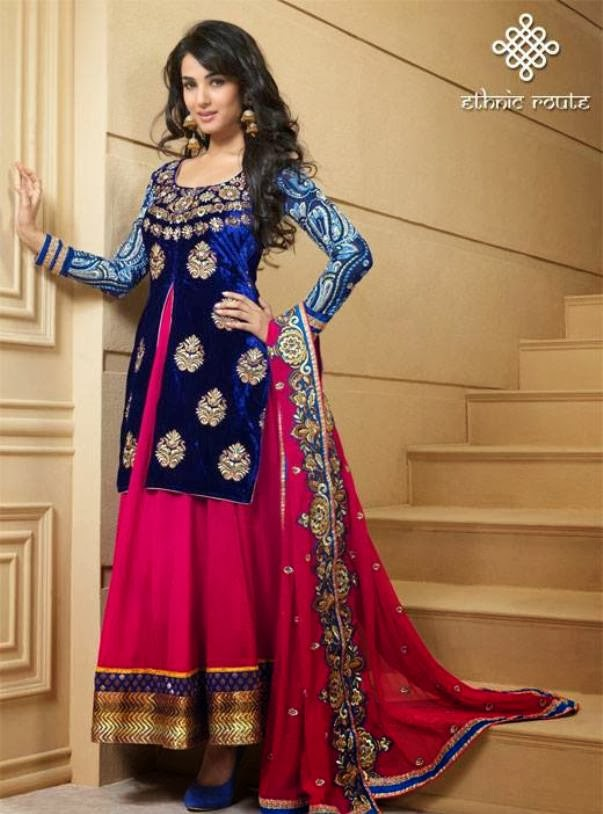 Designer-Anarkali-Suits-2014 (9)