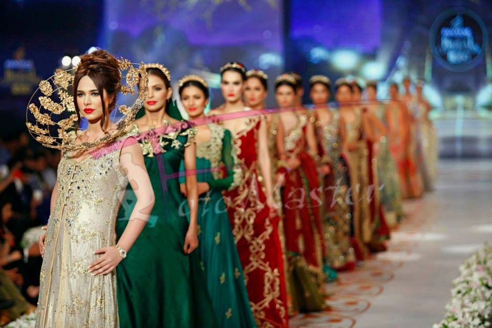 Tabassum Mughal Bridal Collection Floral Tapestries/Embroidered Dreams at PBCW