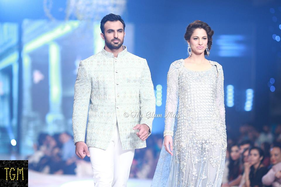 Faraz Manan New Bridal Collection at Pantene Bridal Couture Week