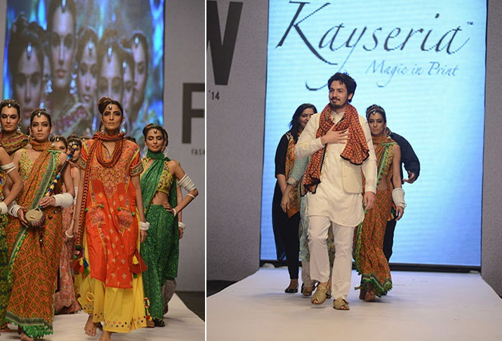 Kayseria Magic in Print New Colorful Traditional Dresses at Fashion Pakistan Week