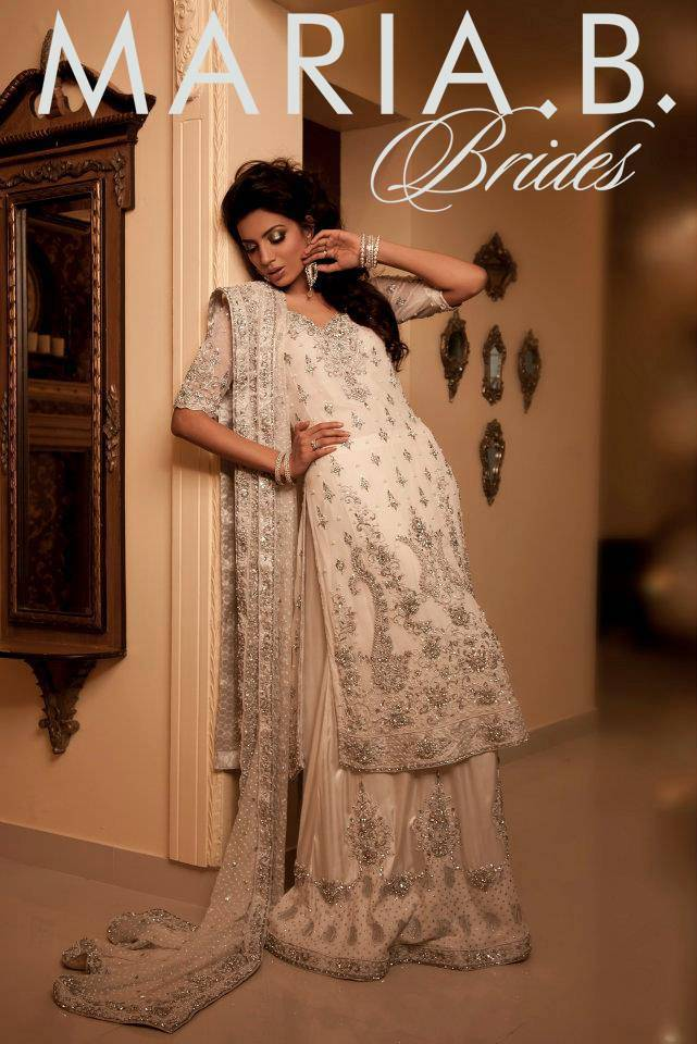 Latest Pakistani Bridal Dresses 2014 Collection By Maria B
