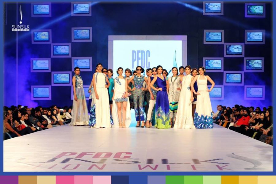Rukn-E-Alam Collection by Hina Butt at PFDC Sunsilk Fashion Week