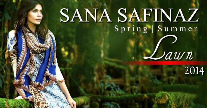 Sana Safinaz New Summer Lawn Collection Catalogue