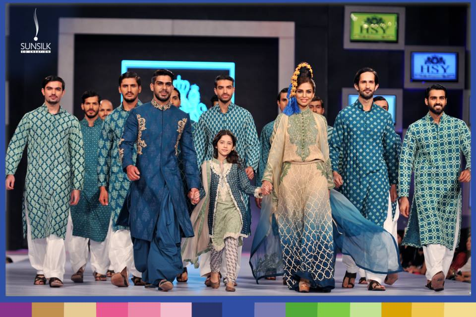 Hassan Sheheryar Yasin Bridal and Patriotic Collection at PFDC Sunsilk Fashion Week