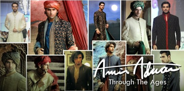 Amir Adnan New Sherwani Collection 2014