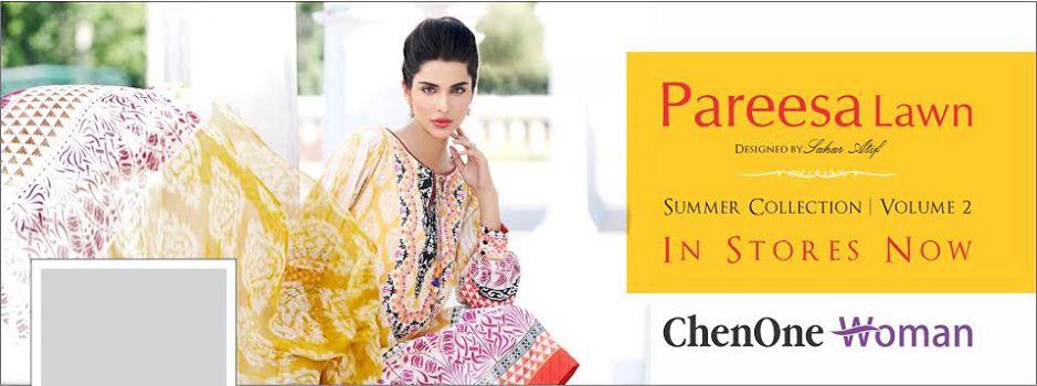 Pareesa Lawn Summer 2014 Collection Volume 2 by Sahar Atif: