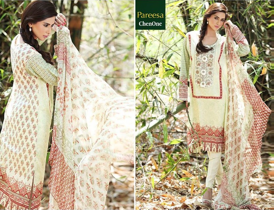 Pareesa summer dresses collection pictures
