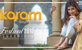 Alkaram Studio Latest Eid Festivel Collection Complete Look-Book