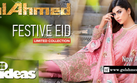 Gul Ahmed Laetst Festive Eid Dresses Collection 2016-2017 For Women