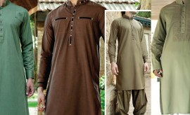 Latest and best Eid Kurta and Salwar Suits for Men by Junaid Jamshed