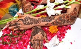 Latest Bridal Mehndi Designs 2016-2017 for Hands and Feet