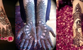 Beautiful and Gorgeous Indian Mehndi Designs 2016-2017 for Ladies