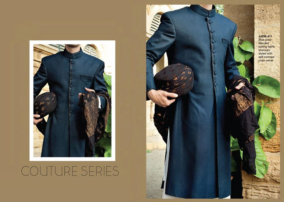 junaid jamshed sherwani collection for eid