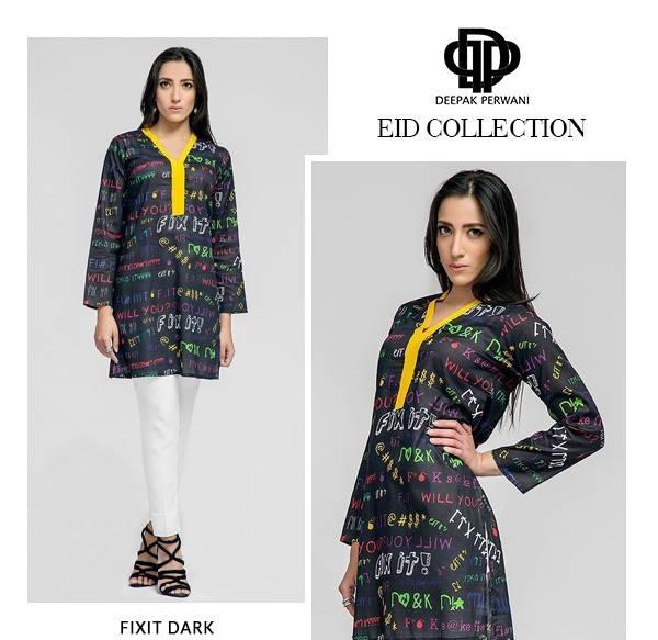 Deepak Perwani Eid Dresses 2016-2017 Designs (1)
