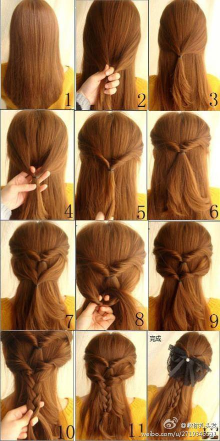 Eid-Hairstyle-ideas-step-by-step-tutorials (23)