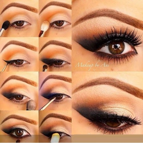 Eye makeup for eid