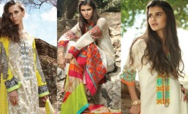 Lakhany Zunuj Latest and Exclusive Embroidered Eid Collection