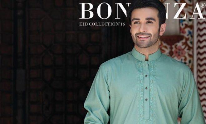 b4b2da1f8c7 Men s Eid Shalwar Kameez and Kurta Collection 2016-2017 by Bonanza