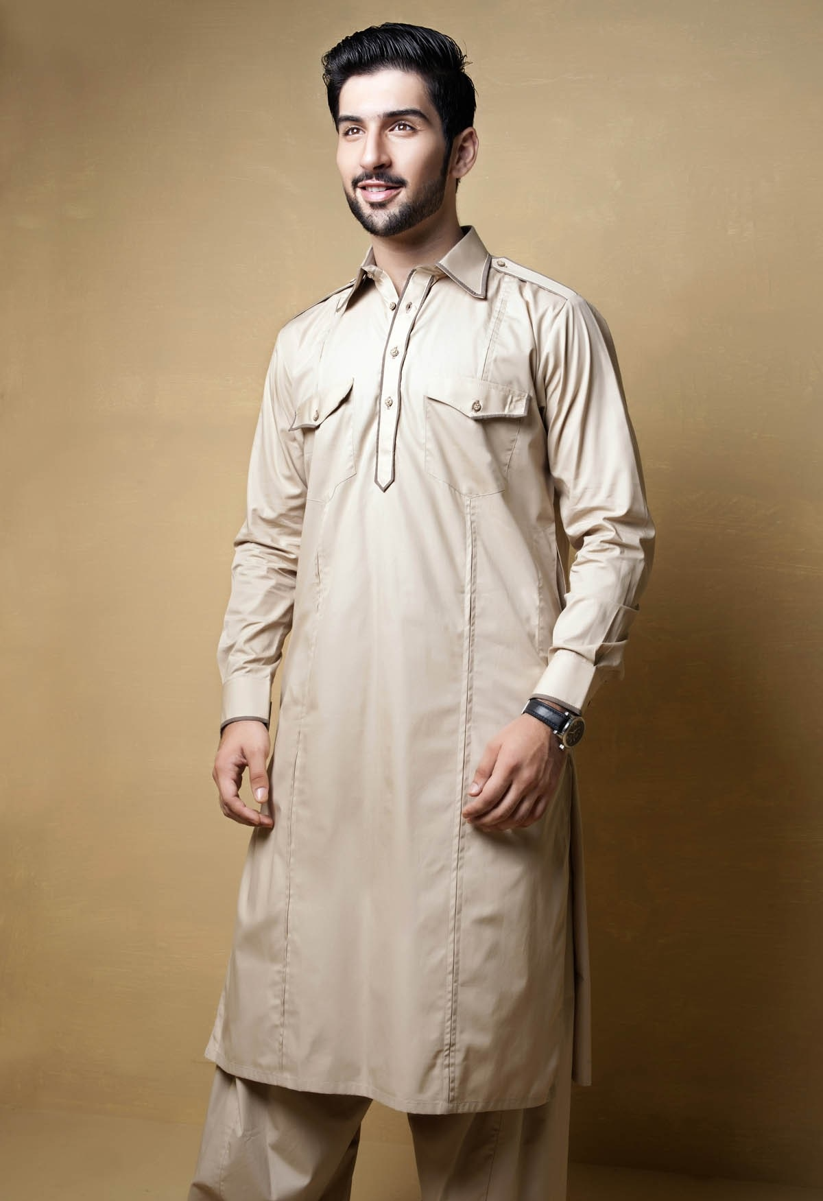 Men's Eid Kurtas 2016-2017 by Bonanza (9)
