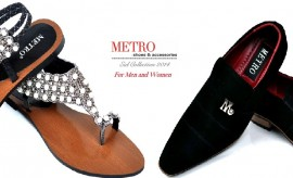 Stylish Eid Shoes for Men and Women by Metro Shoes New Eid Collection
