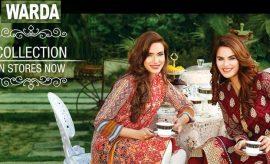 Warda Designer Latest Festive Eid Collection 2016-2017 Catlogue