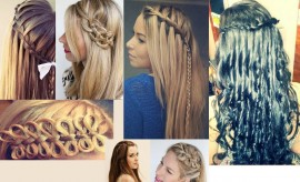Stylish and Trendy Eid Hairstyle ideas 2016-2017 with Tutorials
