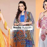 nadia hussain lawn collection 2014