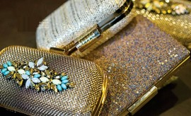 Stylish and Fancy Bridal Clutches for Wedding and Engagement Brides