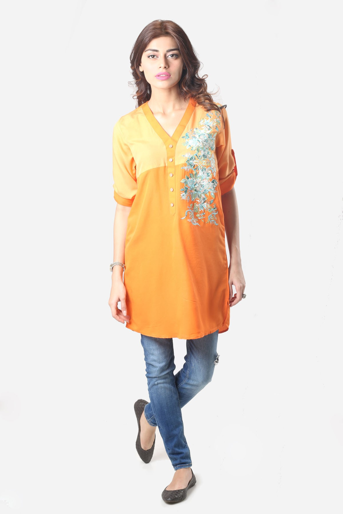 Stylish Tops Collection 2013 For Girls: Khaadi New Western Pret Stylish Tops And Shirts 2014 For Women