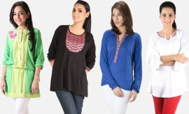 Khaadi New Western Pret Stylish Tops and Shirts for Women
