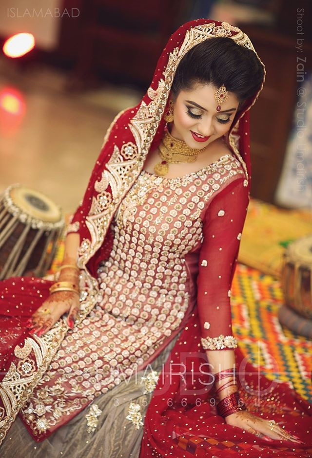 9bc96ab77 Bridal Barat Dresses 2017-2018 Designs You must Choose