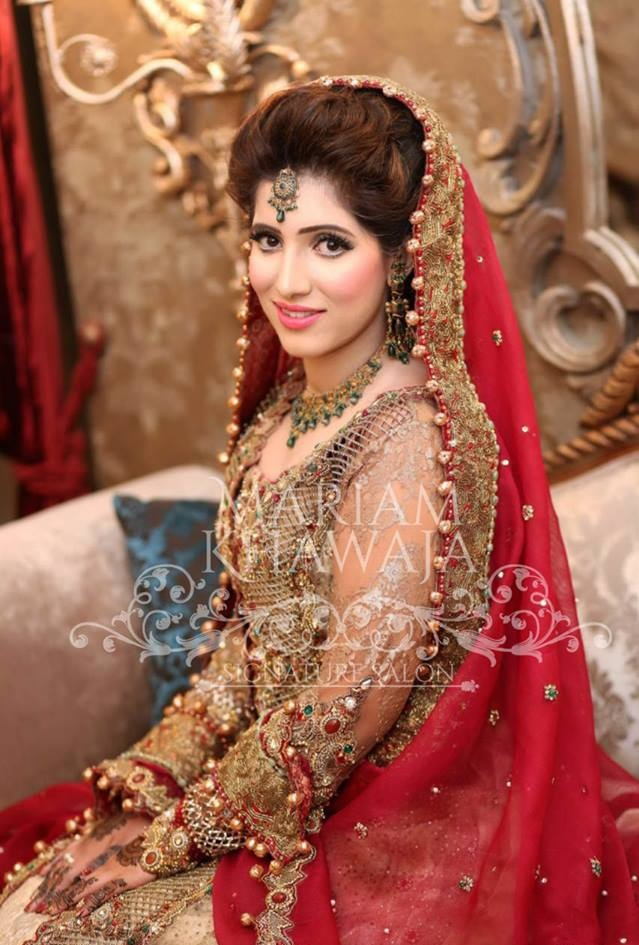 Latest Bridal Barat Dresses for Wedding Brides (25)