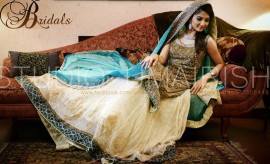 Stylish and Most Beautiful Walima Dress ideas 2016-2017 for Wedding Brides