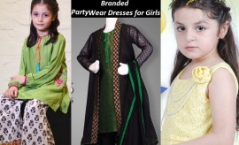 Beautiful Party Wear Dresses for Little Girls by Top Most Brands and Designers