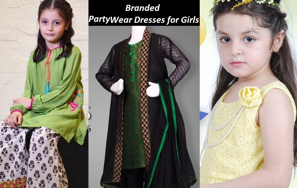 9f5cdbca9b Beautiful Party Wear Dresses for Little Girls by Top Most Brands and  Designers
