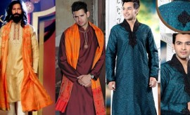 New Stylish Mehndi Wear Grooms' Dresses for Men
