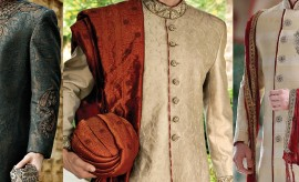 Grooms' Wear Special Wedding Sherwani Designs for Barat Functions