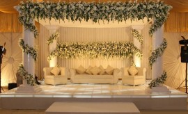 Beautiful Reception Stage Decoration 2017 Ideas for Walima Functions