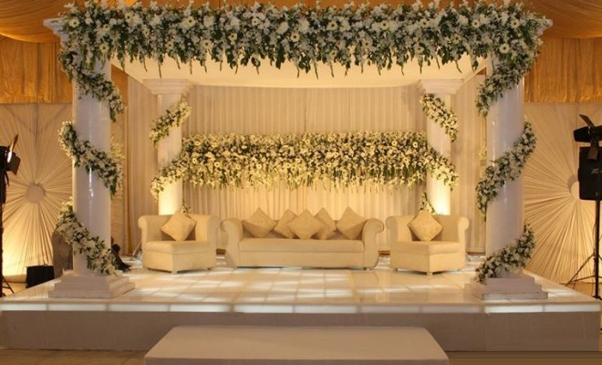Walima stage decoration 2017 2018 trends for reception functions wedding decoration beautiful reception stage decoration 2017 ideas junglespirit Images