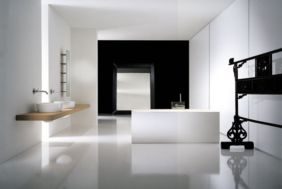 Bathroom decorating ideas new trendy washroom designs for Washroom ideas