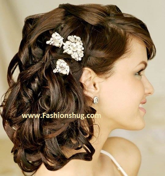 Pleasing Bridal Wedding Hairstyles 2016 2017 Ideas For Wedding Brides Hairstyle Inspiration Daily Dogsangcom