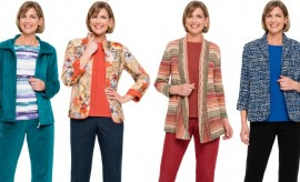 Alfred Dunner New Fall Winter Sweaters and Jackets Collection for Women